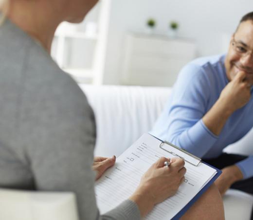 Déroulement d'une consultation thérapeutique à Coutiches, près d'Orchies et Seclin